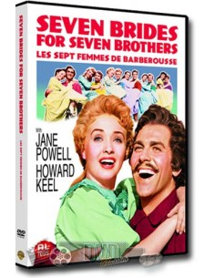 Seven Brides For Seven Brothers - Howard Keel - DVD (1954)