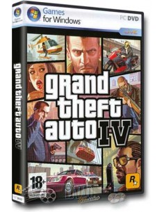 Grand theft auto IV- Adventure & RPG (PC DVD-ROM)