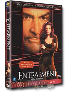 Entrapment - Sean Connery, Catherine Zeta-Jones - DVD (1999)