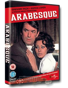 Arabesque - Gregory Peck en Sophia Loren - DVD (1966)