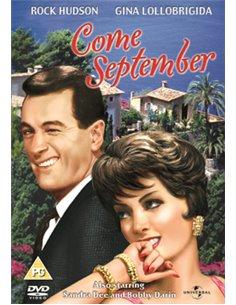 Come September - Rock Hudson, Gina Lollobrigida - DVD (1961)