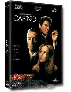 Casino - Robert De Niro, Sharon Stone, Joe Pesci – DVD (1995)