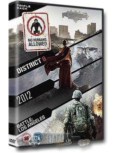 District 9 / 2012 / Battle - Los Angeles - DVD (2009)