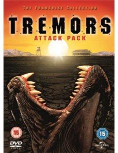 Tremors / Tremors 2 / Tremors 3 / Tremors 4 - DVD (1989)