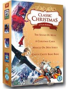 A Christmas Carol / Miracle On 34th Street / The Sound Of Music / Chitty Chitty Bang Bang - DVD (1947)