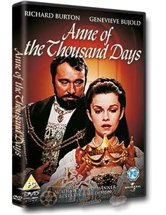 Anne Of The Thousand Days - Richard Burton, Geneviève Bujold – DVD (1969)