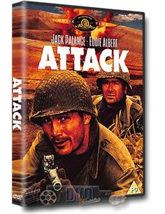 Attack - Jack Palance, Lee Marvin, Eddie Albert – DVD (1956)