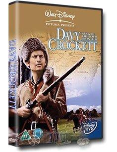 Davy Crockett - King Of The Wild Frontier - Fess Parker – DVD (1955)