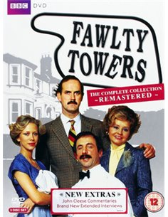 Fawlty Towers – Series 1 to 2 – Complete Collection - DVD (1975)