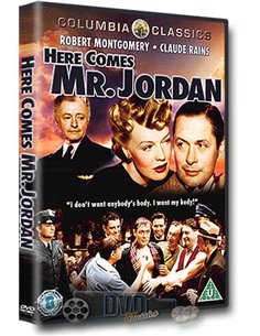 Here Comes Mr Jordan - Robert Montgomery, Claude Rains – DVD (1941)