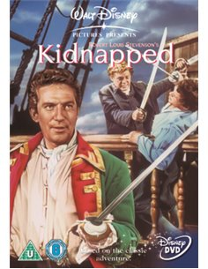 Kidnapped - Peter Finch, James MacArthur, Bernard Lee – DVD (1960)