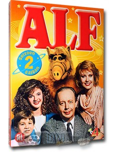 Alf - Seizoen 2 - Paul Fusco, Tom Patchett [4DVD] - DVD (1987)