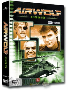 Airwolf - Seizoen 1 - Jan-Michael Vincent - DVD (1984)