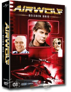 Airwolf - Seizoen 3 - Jan-Michael Vincent - DVD (1985)