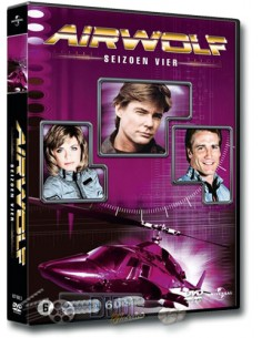 Airwolf - Seizoen 4 - Jan-Michael Vincent - DVD (1987)