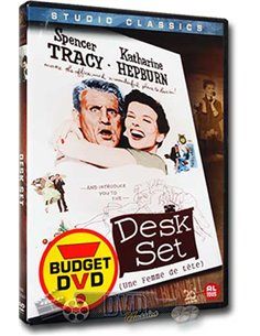 Desk Set - Spencer Tracy - Katharine Hepburn - DVD (1957)