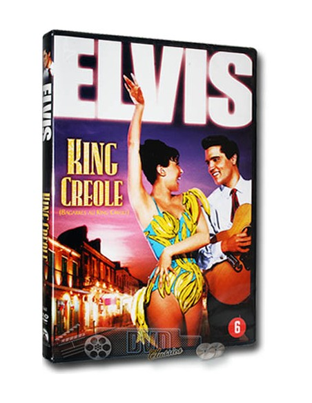 Elvis Presley - King Creole - Walter Matthau, Dean Jagger - DVD (1958)