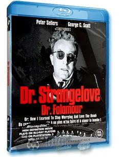 Dr. Strangelove - Peter Sellers - Stanley Kubrick - Blu-Ray (1964)