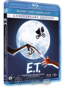 E.T. - Drew Barrymore - Steven Spielberg - Blu-Ray (1982) Combopack