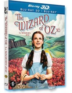 The Wizard Of Oz (2D + 3D) - Judy Garland - Blu-Ray (1939)