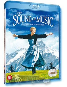 The Sound of Music - Julie Andrews - Robert Wise - Blu-Ray (1965)