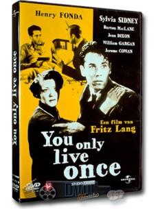 You Only Live Once - Henry Fonda - Fritz Lang - DVD (1937)