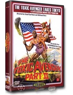 The Toxic Avenger 2 - Lloyd Kaufman, Michael Herz - DVD (1989)