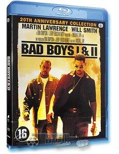 Bad Boys 1 & 2 - Martin Lawrence, Will Smith - Blu-Ray (2013)