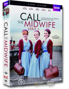 Call the Midwife - Seizoen 5 - Jenny Agutter - DVD (2016)