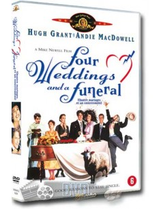 Four Weddings and a Funeral - Andie MacDowell, Hugh Grant - DVD (1994)