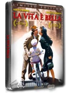 La Vita e Bella - Roberto Benigni - DVD (1997) Steelbook