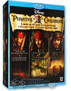 Pirates of the Caribbean 1-3 - Johnny Depp - Blu-Ray (2008)