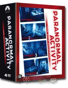 Paranormal Activity 1-4 - DVD (2013)