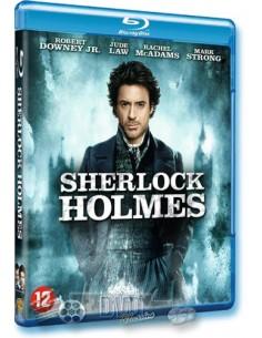 Sherlock Holmes - Robert Downey Jr. - Guy Ritchie - Blu-Ray (2009)