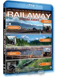Rail Away - Steam Away 3 - Blu-Ray (2009)