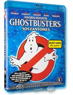 Ghostbusters - Bill Murray, Sigourney Weaver - Blu-Ray (1984)