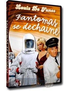 Fantomas se Dechaine - Louis de Funes - DVD (1965)