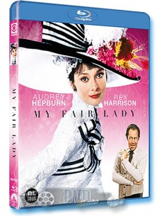 My Fair Lady - Rex Harrison, Audrey Hepburn - Blu-Ray (1964)