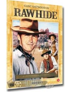 Rawhide - Seizoen 1 (6DVD) - Clint Eastwood - DVD (1959)
