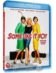 Some Like it Hot - Marilyn Monroe - Billy Wilder - Blu-Ray (1959)