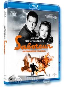 Saboteur - Priscilla Lane, Robert Cummings - Blu-Ray (1942)