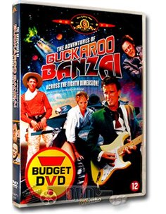 The Adventures of Buckaroo Banzai - Peter Weller- DVD (1984)