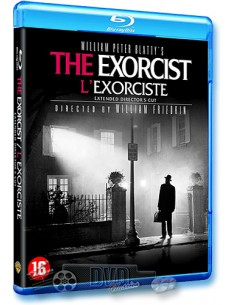 The Exorcist - Director's Cut - William Friedkin - Blu-Ray (1973)