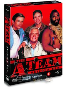 The A-Team - Seizoen 1 - DVD (1983)