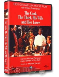 The Cook, the Thief, His Wife and Her Lover - Helen Mirren - DVD (1989)