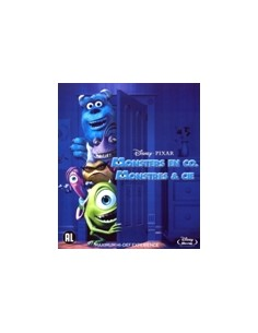 Monsters en Co - Disney, Pixar - Blu-Ray (2001)