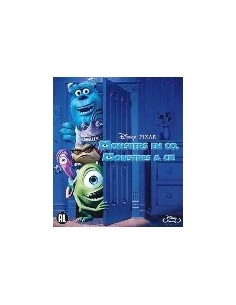 Monsters en Co - Disney - Pixar - Blu-Ray (2001)