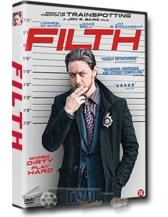 Filth - James McAvoy, Jamie Bell, Eddie Marsan - DVD (2013)