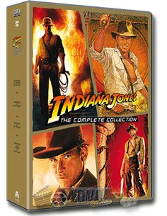 Indiana Jones - the Complete Collection - Harrison Ford - DVD (2008)