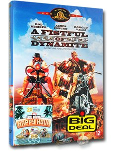 A Fistful of Dynamite - Rod Steiger, James Coburn - DVD (1971)